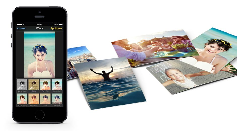 iPhone App for Ordering Photos